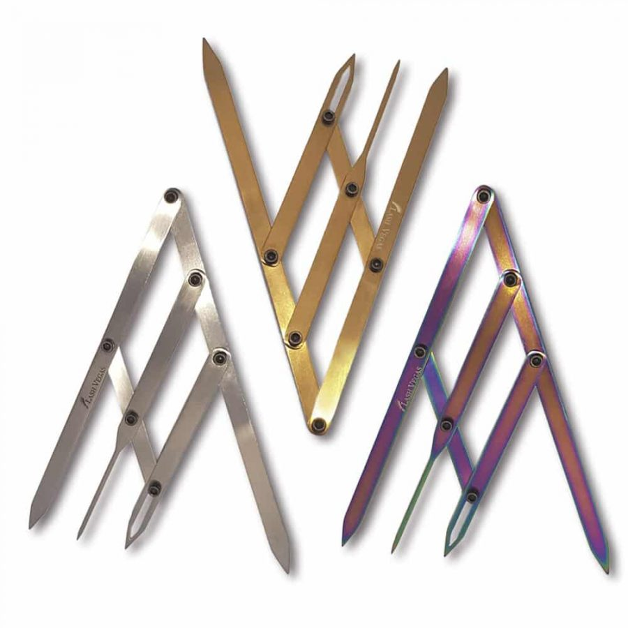 Premium Brow Shaping Tool (Chrome, Gold and Multi-colour)