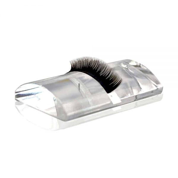 Luxury Curved Glass Lashes Tile for Eyelash Extensions