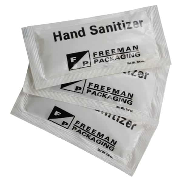 Hand Sanitiser Sachets 2 mL
