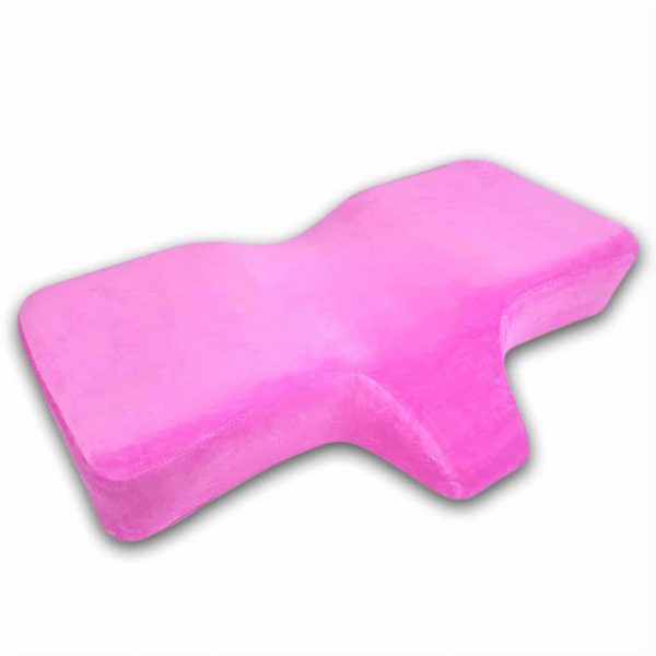 Ergonomic Lash Pillow (Pink) for Eyelash Extensions, Permanent Makeup and Microblading