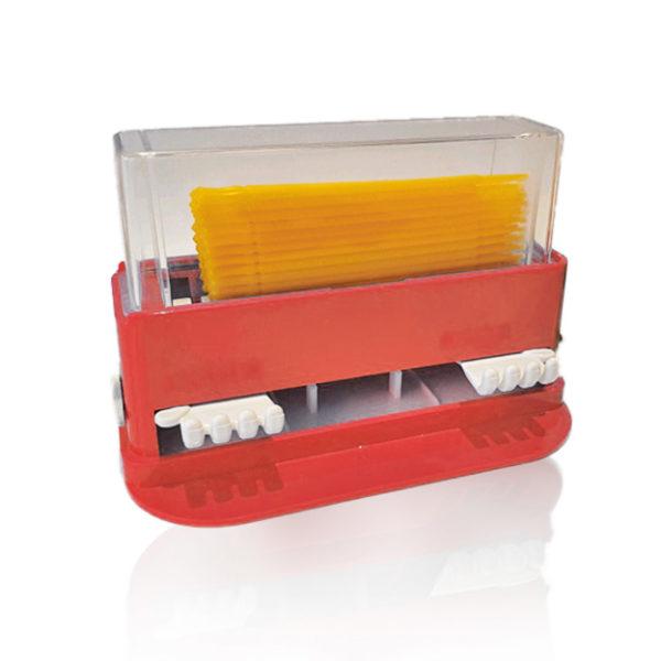 Micro-Applicator Brushes Box - Red