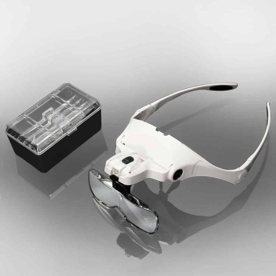 LED Magnifying Glasses for Eyelash Extensions
