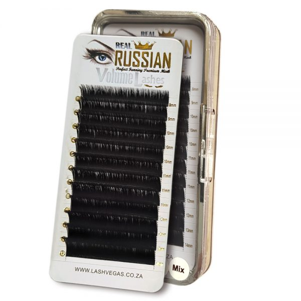 Real RUSSIAN Volume Premium Mink Eyelash Extensions - Easy Fanning Lashes