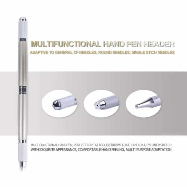 Multifunctional Hand Pen Header for Microblading