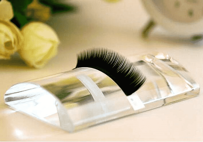 Luxury Curved Glass Lashes Tile