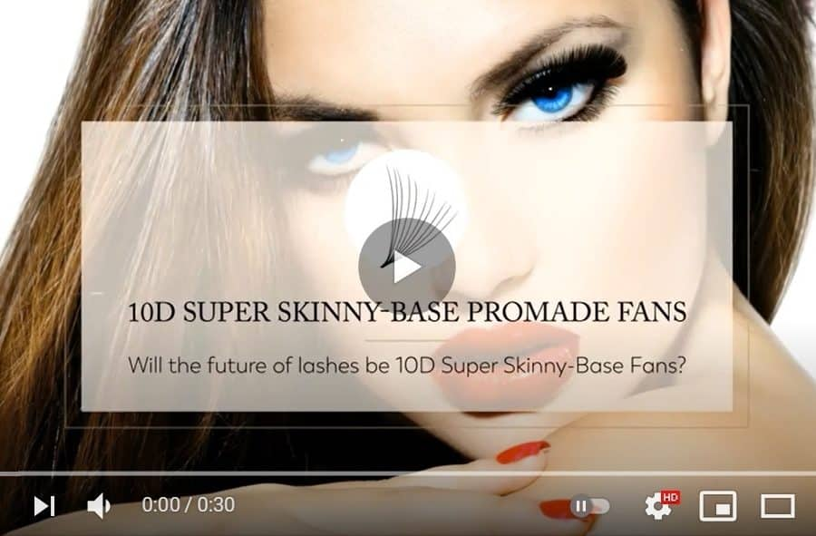 10D ProMade Hand-Made Volume Lashes Fans (Loose)