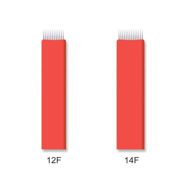 Flat Shading Needles 12F & 14F