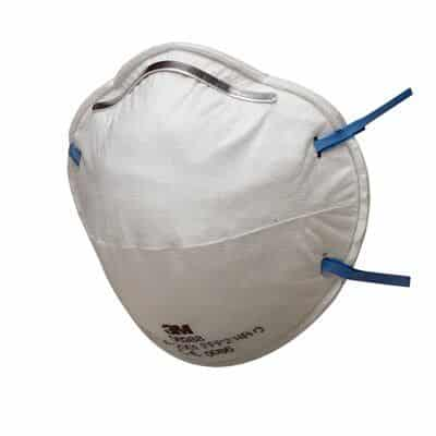 3M™ Disposable Respirator, FFP2, Unvalved, 8810 Face Mask for sale