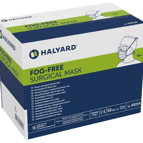 HALYARD FLAUIDSHIELD Surgical Mask 49214 for sale