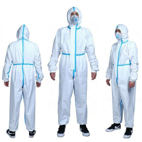 HazMat Disposable Coverall Protection Suits (each)