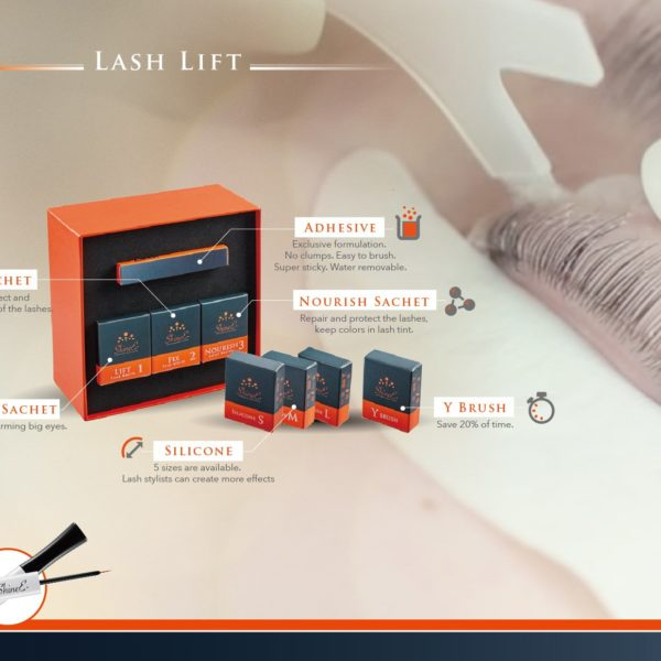 Lash Lift Premium Kit (sachet) by ShineE