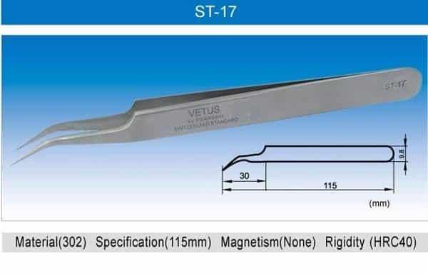 VETUS Tweezers - ST Series